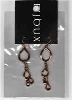 Teardrop dangle earrings (Code 2654)